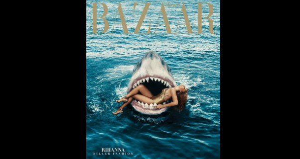 Music Nation - Rihanna - On Harper's Bazaar Magazine Cover - March Issue (7)