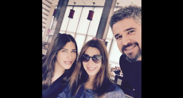 Music Nation - Nancy Ajram with her Sister Nadine and Brother Nabil (1)