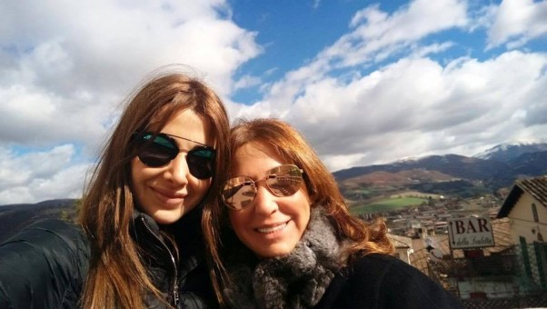 Music Nation - Nancy Ajram & her  Mother - New Picture (3)