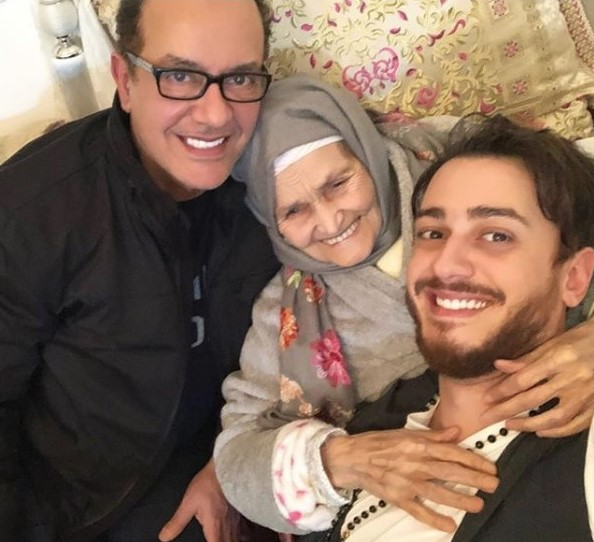 Music Nation - Saad Lamjarred With His Grandmother & Father
