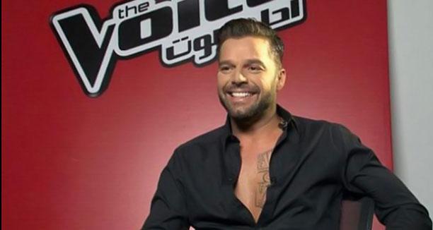Music Nation - Haifa Wehbe - Ricky Martin - The Voice (3)