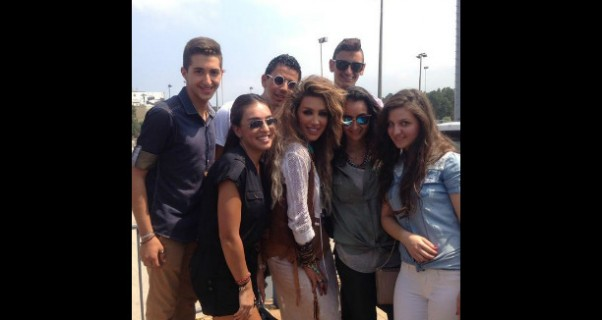 Music Nation - Maya Diab - With Fans (3)