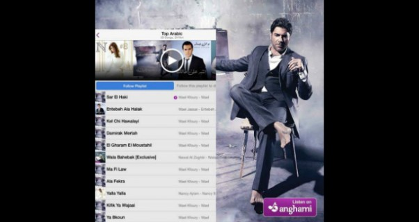 Music Nation - Wael Kfoury - Album - Wael - Success
