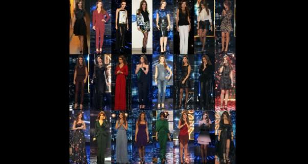 Music Nation - Nancy Ajram - Dresses - Arab Idol (3)