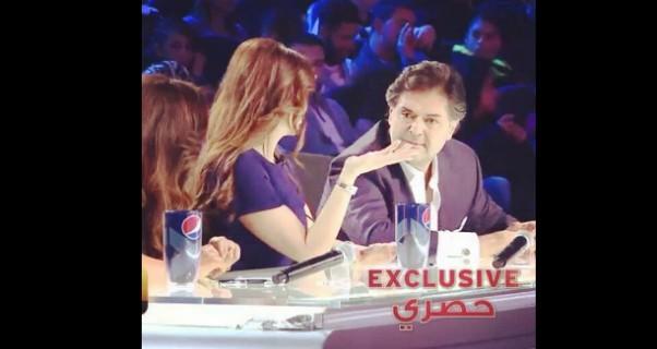 Music Nation - Elissa & Ragheb Alama & Donia Samir Ghanem - Exclusive Pics - X Factor Arabia (2)