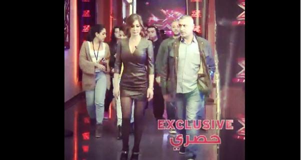 Music Nation - Elissa & Ragheb Alama & Donia Samir Ghanem - Exclusive Pics - X Factor Arabia (3)
