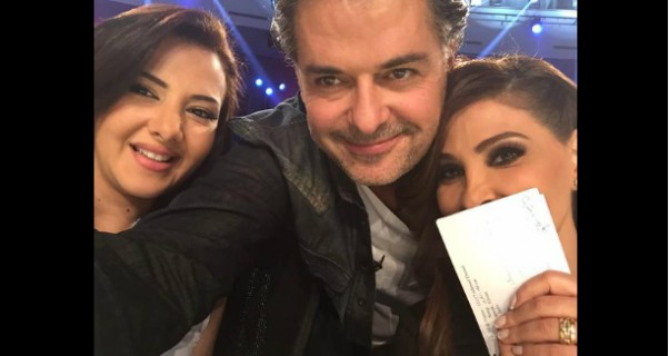 Music Nation - Ragheb Alama - Elissa  - Donia Samir Ghanem - X Factor Arabia - Selfie (1)