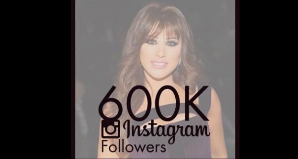 Music Nation - Najwa Karam - Instagram - 600K Folllowers (1)