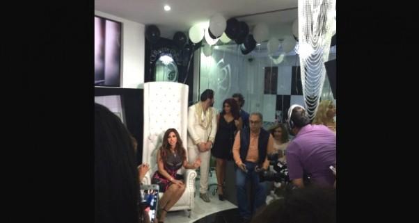 Music Nation - Najwa Karam - Ghassan Obeid - Salon Opening (2)
