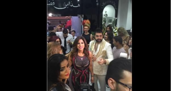 Music Nation - Najwa Karam - Ghassan Obeid - Salon Opening (4)