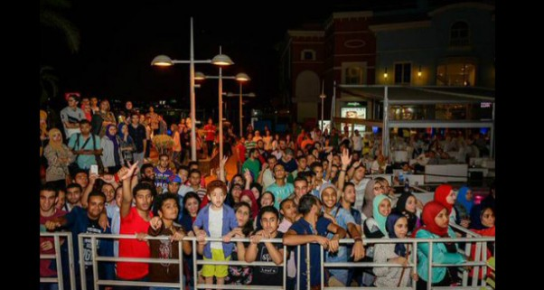 Music Nation - Mina Atta - Concert - Egypt - Porto Cairo Mall (3)