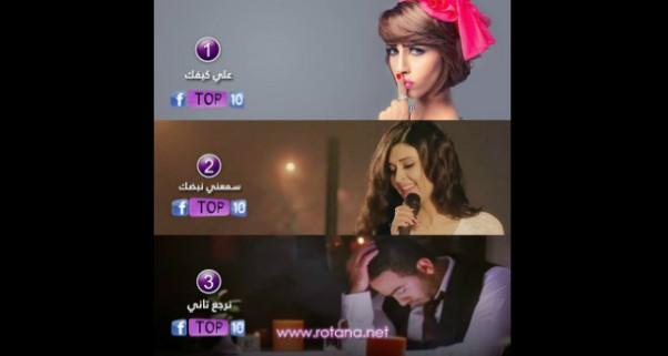 Music Nation -  Rana Samaha - 3la kefak - Lyric Video - Number1 - Rotana Mousica
