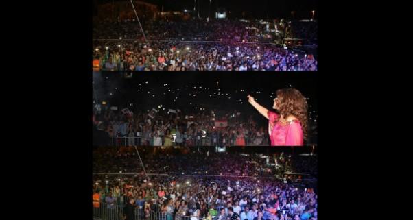 Music Nation  - Najwa Karam - Aswat Nesa2iya Festival - Morocco  (3)