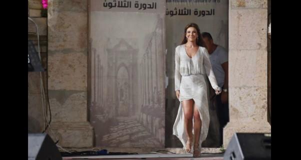 Music Nation - Nancy Ajram - Jarash Concert (1)