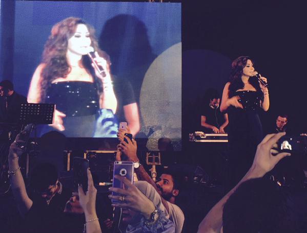Music Nation - Elissa - Egypt Concert - Eid Adha Mubarak (1)