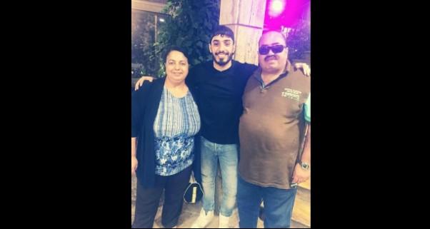 Music Nation - Laith Abu Joda - Pic - With his Mom & Dad (1)