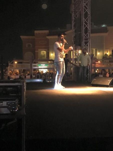 Music Nation - Mina Atta - Porto Cairo Mall - Concert - Egypt - Eid Adha Mubarak (2)