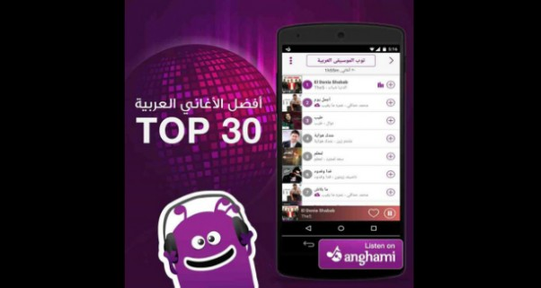 Music Nation - The5 Team - Song - El Donia Shabab Number1 on Anghami Top 30 Best Arabic Songs