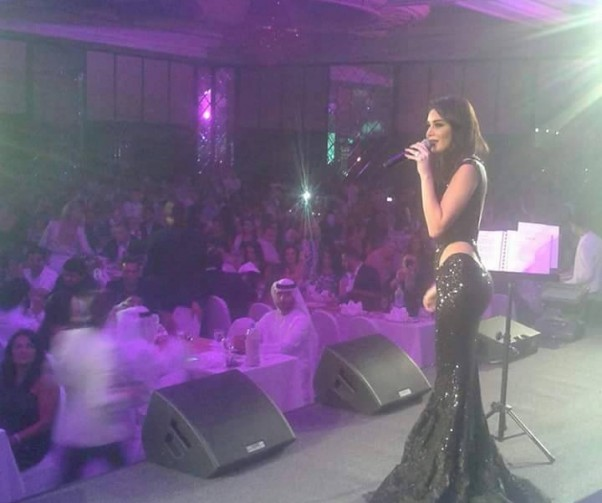Music Nation - Cyrine Abdel Nour - Dubai - Concert (1)