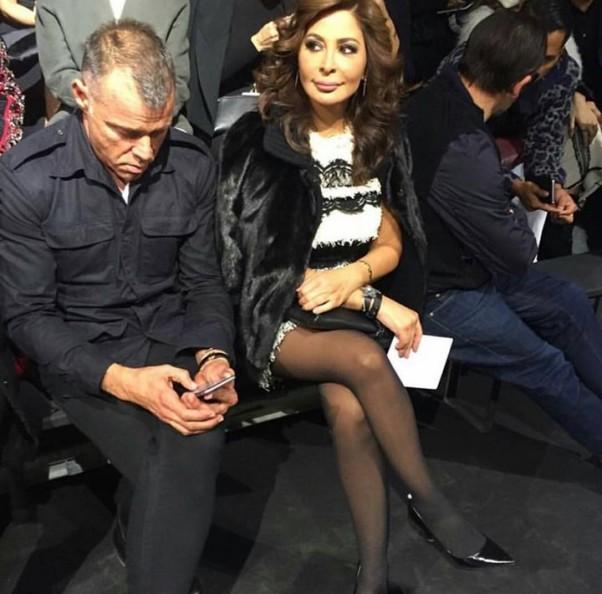 Music Nation - Elissa - Lanvin Fashion Show - Paris Fashion Week (3)