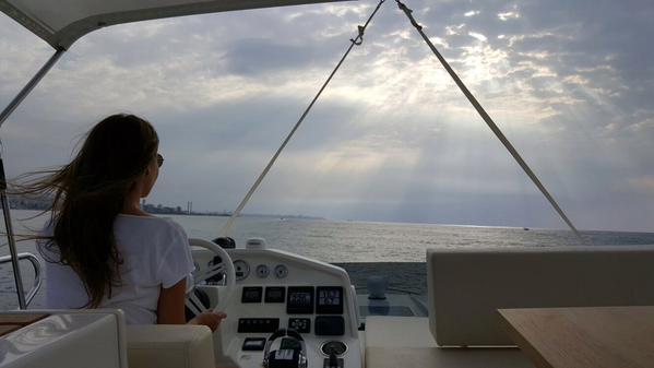 Music Nation - Nancy Ajram - Driving Yacht - Sea (3)