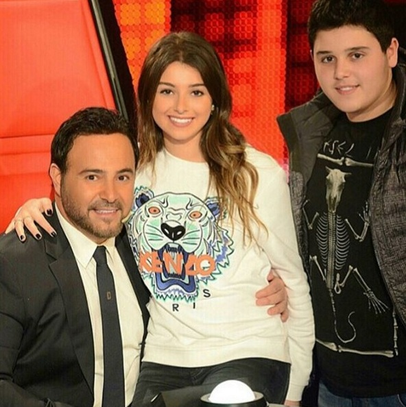 Music Nation - Assi El Hallani With His Son Al Walid & Daughter Maritta - News (1)