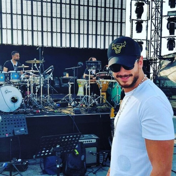 Music Nation - Saad Lamjarred - Preparations - Egypt - Concert (3)