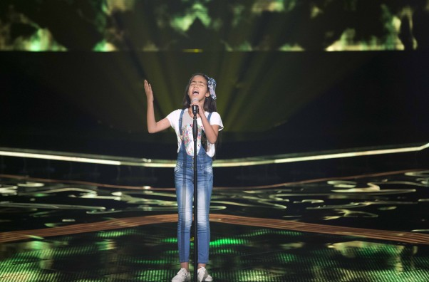 MBC1 & MBC MASR- the Voice Kids- Blind 3- Kadim's team- Nour Qamar (1)