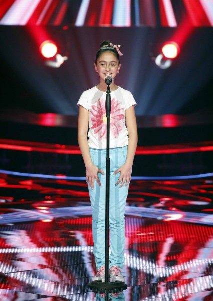 MBC1 & MBC MASR- the Voice Kids- Blind 3- Tamer's team- Janine Kharrat (1)