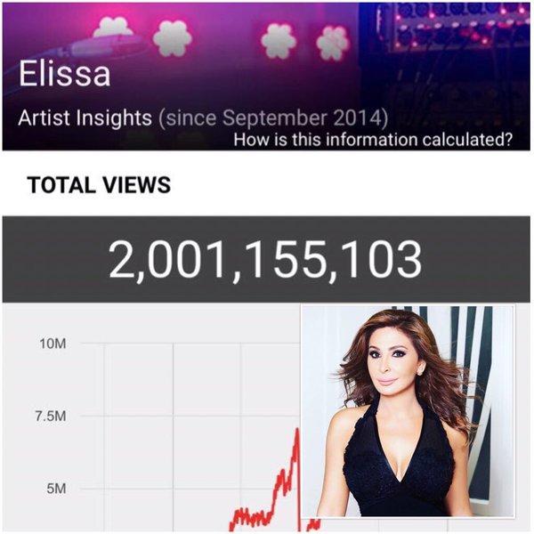 Music Nation - Elissa - YouTube - Over 2 Billion Views