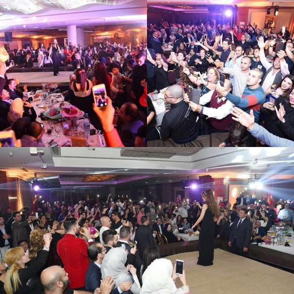 Music Nation - Nancy Ajram - Concert - Jordan - New Year's Eve (1)