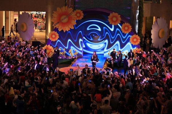 Music Nation - Nancy Ajram - Concert - UAE (2)
