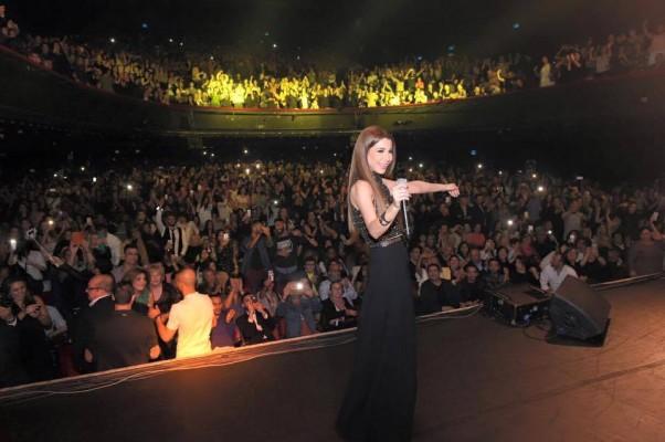 Music Nation - Nancy Ajram - Concert - Paris (1)