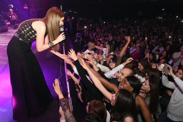 Music Nation - Nancy Ajram - Concert - Paris (2)