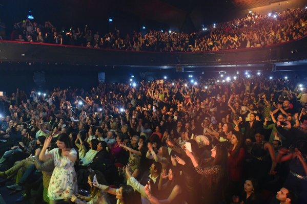Music Nation - Nancy Ajram - Concert - Paris (3)