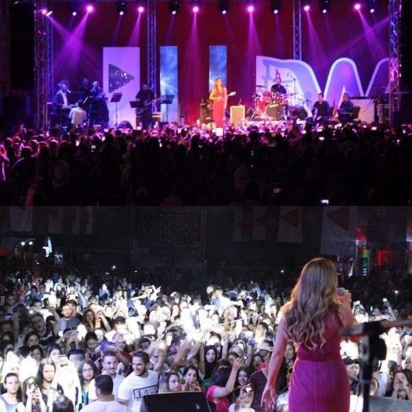 Music Nation - Carole Samaha - Concert - Algeria (1)