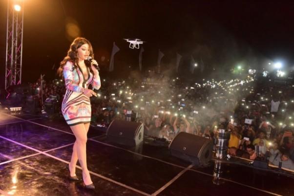 Music Nation - Haifa Wehbe - Concert - Egypt - Eid Fitr (2)