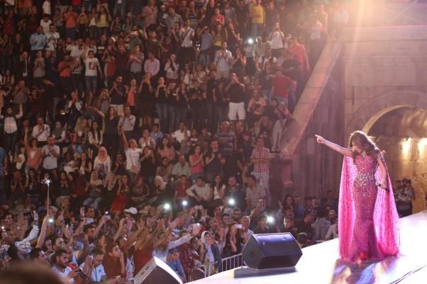 Music Nation - Najwa Karam - Jerash Festival (6)