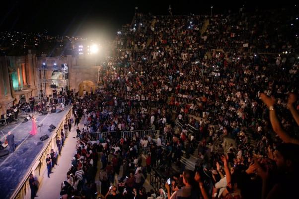 Music Nation - Najwa Karam - Jerash Festival (7)