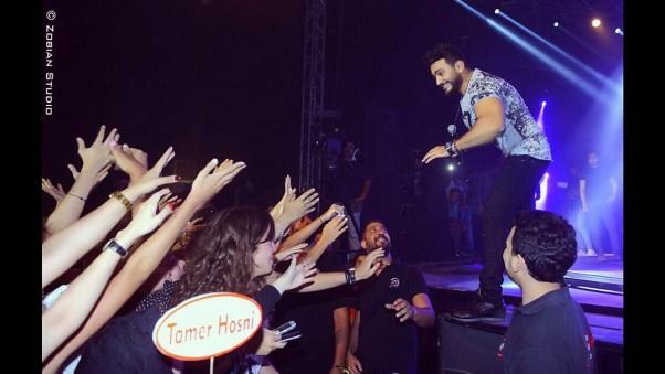 Music Nation - Tamer Hosny - Concert - Beirut Holidays Festival (15)