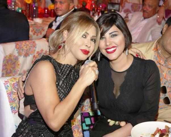 Fahad & Mona Zahid Cannes Event - (Nawal El Zoghbi & Shams)
