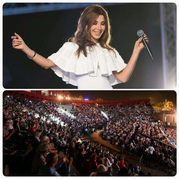 Music Nation - Nancy Ajram - Concert - Morocco (1)