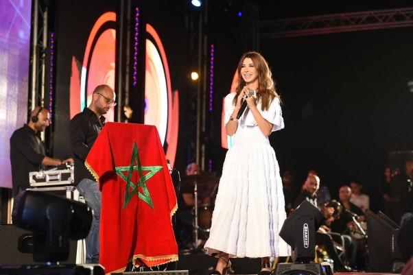 Music Nation - Nancy Ajram - Concert - Morocco (2)
