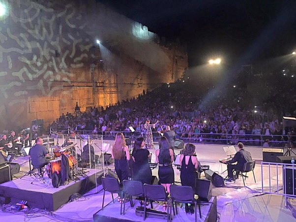 Music Nation - Sherine Abdel Wahab - Concert - Baalbeck International Festival (3)
