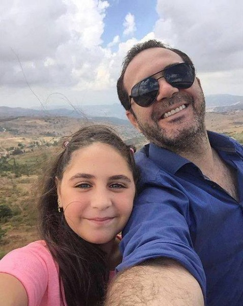 Music Nation - Wael Jassar With His Daughter Marilyn (1)