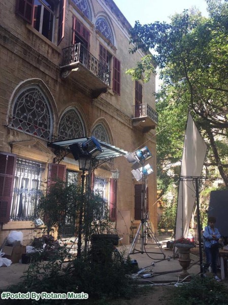 Music Nation - Elissa - Aaks Elli Shayfenha - Clip Shooting (4)