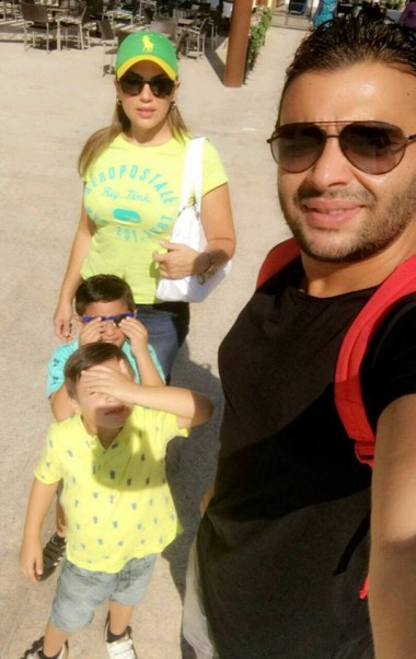 Music Nation - Ramy Sabry With His Family