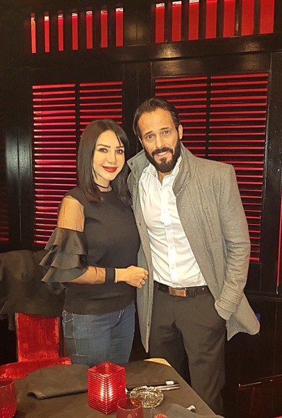 Music Nation - Youssef El Sherif & his wife Engy Alaa (1)