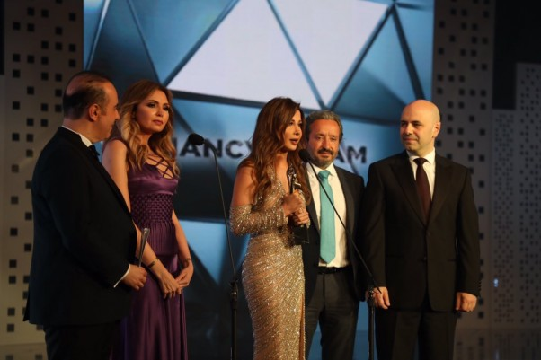Music Nation - Nancy Ajram - Murex D'or (1)