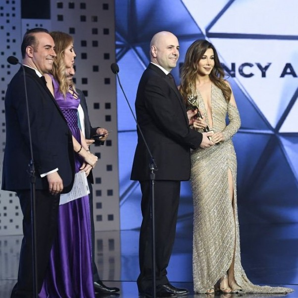Music Nation - Nancy Ajram - Murex D'or (6)